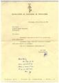 Carta da Manufactura de Tapeçarias de Portalegre a José de Almada Negreiros