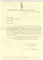 Carta da Manufactura de Tapeçarias de Portalegre