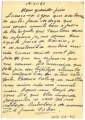 Bilhete postal de José Afonso de Almada Negreiros a José de Almada Negreiros