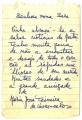 Bilhete de Maria José Teixeira de Vasconcelos para Sarah Affonso e José de Almada Negreiros