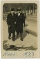 José de Almada Negreiros e outro, em Madrid