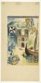 Estudo para os frescos da Gare Marítima de Alcântara, n.d; n.a