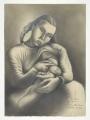 Sarah Affonso e o filho, 1934