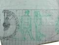Estudo para a decoração da fachada da Reitoria da Universidade de Lisboa: Os Lusíadas, fixando Vasco da Gama ante aMáquina do Mundo (Canto X, estrofes 74-91)