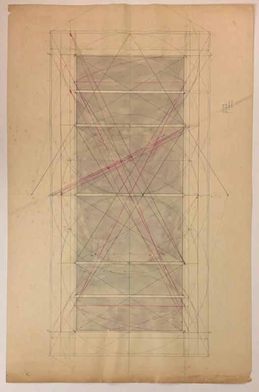 Sem título (Estudo geométrico dos painéis de São Vicente)