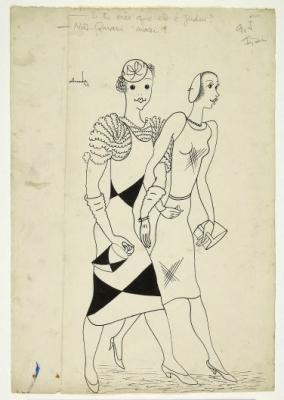 Senhoras   passeando , 1932