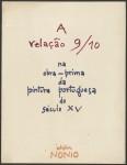 A relação 9/10 na obra-prima da pnitura portuguesa do século XV