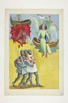 Anjo, Diabo e soldados das cruzadas