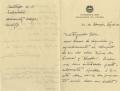 Carta de Maria Victoria Alvarez a Almada Negreiros