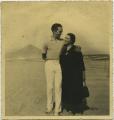 José de Almada Negreiros e Sarah Affonso em Moledo do Minho