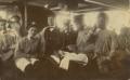 José de Almada Negreiros com colegas do Colégio dos Jesuítas