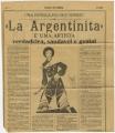 Uma estrela do país vizinho , «La Argentinita» , É uma artista verdadeira, saudável e genial