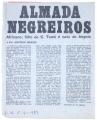 Almada Negreiros / Africano: filho de S. Tomé e neto de Angola