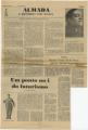 Almada / o português sem mestre / Como Ramon Gomez de la Serna aprecia Almada Negreiros / Um ponto no i do futurismo