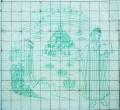 Estudo para a decoração da fachada da Reitoria da Universidade de Lisboa: «A Divina Comédia»