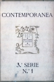 Contemporânea, 3.ª Série, N.º 1