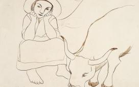 """Exposição: """"Sarah Affonso e a Arte Popular do Minho"""", no Museu Gulbenkian, em Lisboa"""